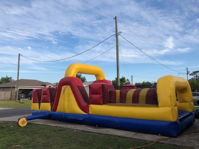35ft obstacle course