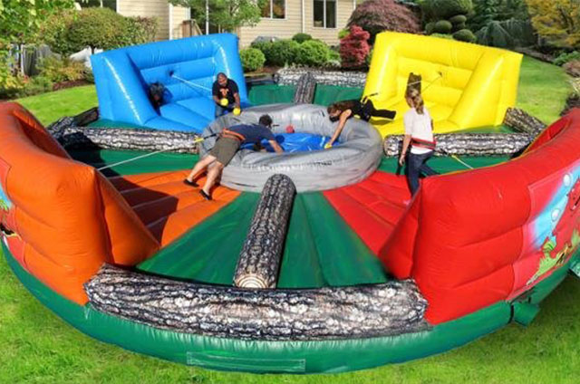 Hippo Chow Down Inflatable Party Game Rentals