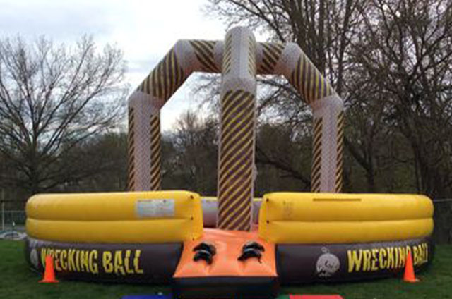 Wreecking Ball Inflatable Game Rentals