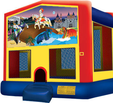 Module Bounce House Knights and Dragons