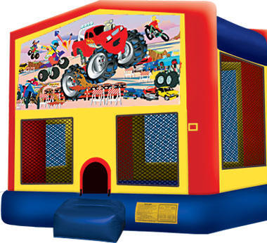 Module Bounce House Monster Trucks