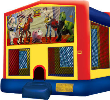 Bounce House with hoop Toy Story