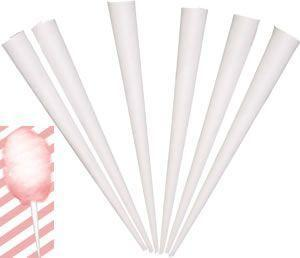 25 Cotton Candy Cones