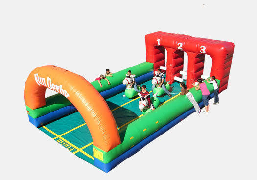 Inflatable Derby Race