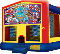 Bounce House with hoop All Sports