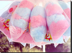 Cotton Candy Bags (x100)