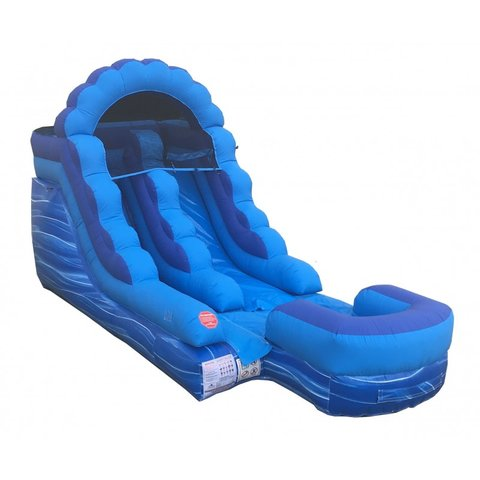 12' high Water slide 23' L X 9' W X 13.5' H