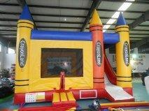 Crayon Bounce and Slide combo 18ft x 15ft