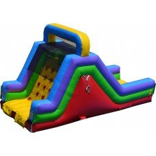 Rock Climbing Slide L 26ft x W 13ft x H 15ft