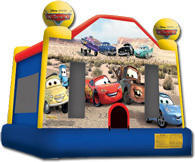 Pixar Cars Bounce House
