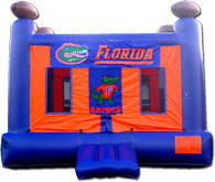 FL Football Gator Bounce House