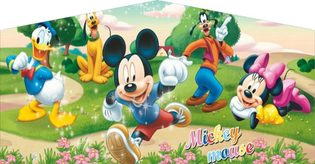 #27 Mickey Mouse banner x