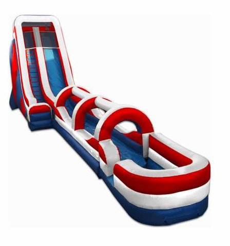 #304 Red white blue Slide w slip n slide  @