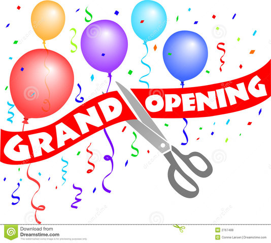 #18 Grand opening   banner