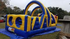 #503 Yellow Obstacle Course 20 ft w