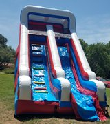 #309 Red white blue  Dry Slide @