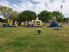 #607 Yellow Obstacle Course  60x12x15