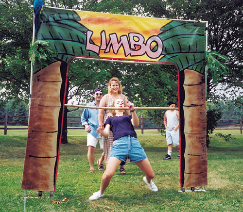 Person playing the Limbo Game