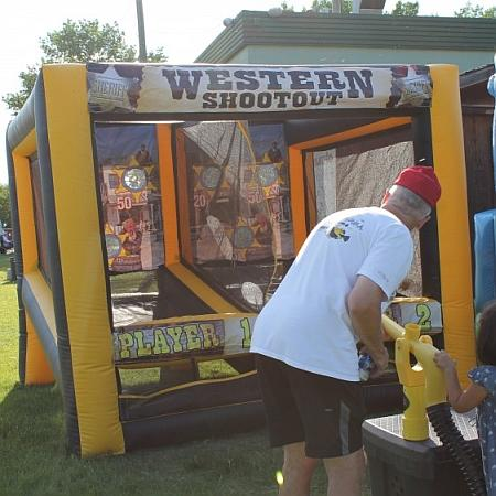 Playing the Western Shootout Game
