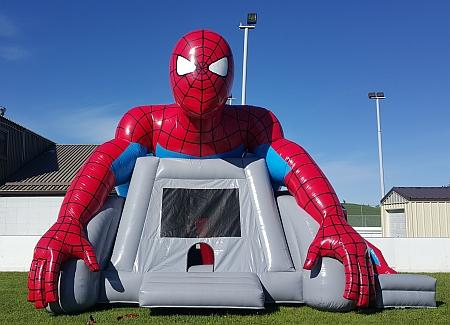 Spiderman Bouncer Front