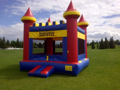 Big Bouncy Castle rental from Bounceroo Party Rentals