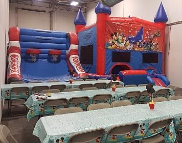 Indoor Bouncy Castle parties