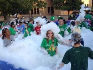 Adult foam party