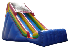 "<b><font color=""red"">Massive 19ft Tall Inflatable Slide</font><br><small><font color=""blue"">Our biggest inflatable slide!</font><br>For dry use only</small></b>"