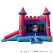 Princess Combo Disney Princess castle with slide