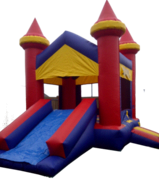 Castle Combo Bouncy castle with slide