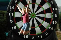 Giant Dart Board with Velcro Darts
