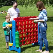 <b><font color=red><b>Giant Connect 4 Game Rental</font><br><small><font color=blue>Everybody loves connect four!</font><br>Great for all ages</b></small>
