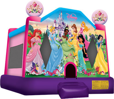 1A - Disney Princess Bounce House
