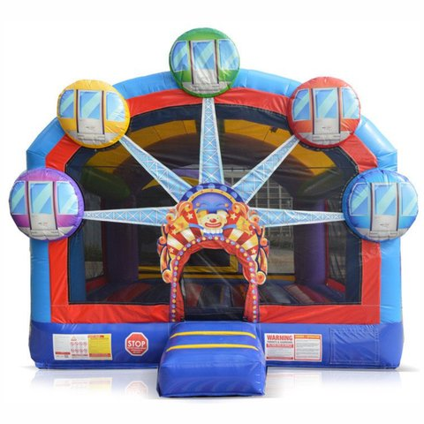 1A - Ferris Wheel Bounce House