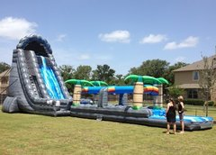 11B - 27' Roaring River Water Slide - WITH POOL