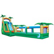 11B - 22' Tropical Typhoon Water Slide - NO POOL