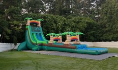 11C - 24' Tropical Monsoon Water Slide