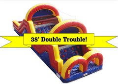 13A - 38' Double Trouble Obstacle Course