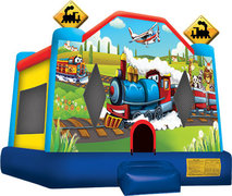 1A - Trains and Planes Bounce House