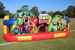 1B - Toy Story Toddler Town Inflatable Play Land