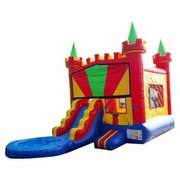 2A - Colorful Castle Jr. Combo - WATER SLIDE!