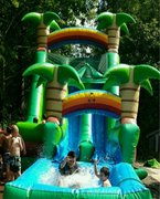 8C - 18' Hawaiian Double Down Water Slide