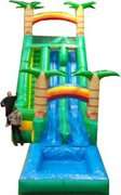 8C - 22' Hawaiian Double Down Water Slide