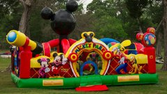 1C - Mickey Park Toddler Inflatable Play Land