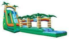 11B - 22' Tropical Typhoon Water Slide - WITH POOL