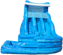 9A - 19' Wild Rapids Water Slide Blue (color / shape may vary)