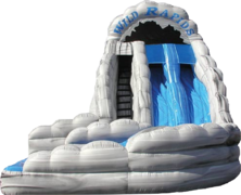 9A - 19' Wild Rapids Water Slide Gray (color / shape may vary)