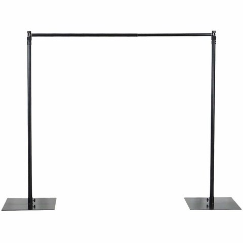8' x 10' Adjustable Heavy Duty Pipe and Drape Backdrop Stand