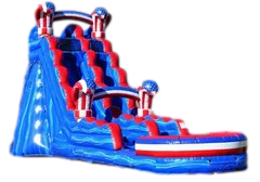 20FT AMERICAN CREED SLIDE W/ POOL