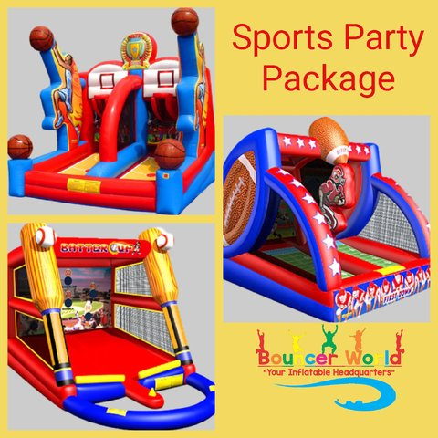 SPORTS PARTY PACKAGE